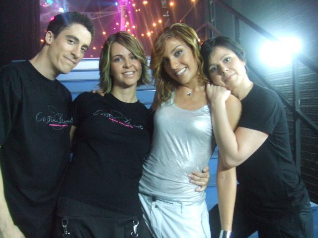 Cristina Llorente, Inma Saenz, Karen y Manu