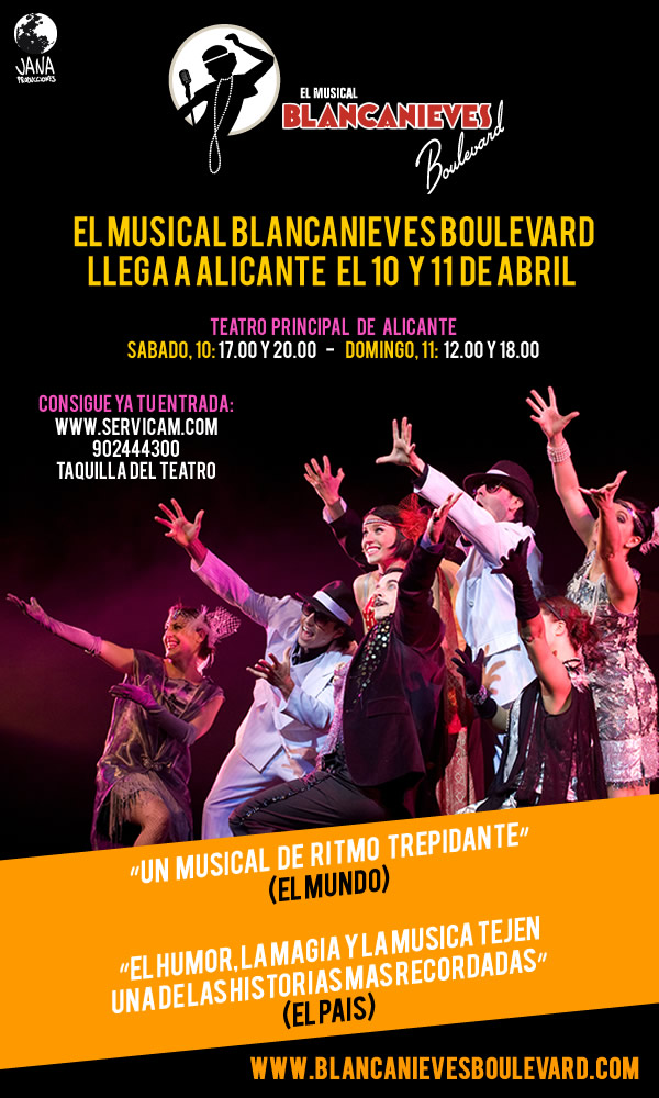 blancanieves boulevard, el musical